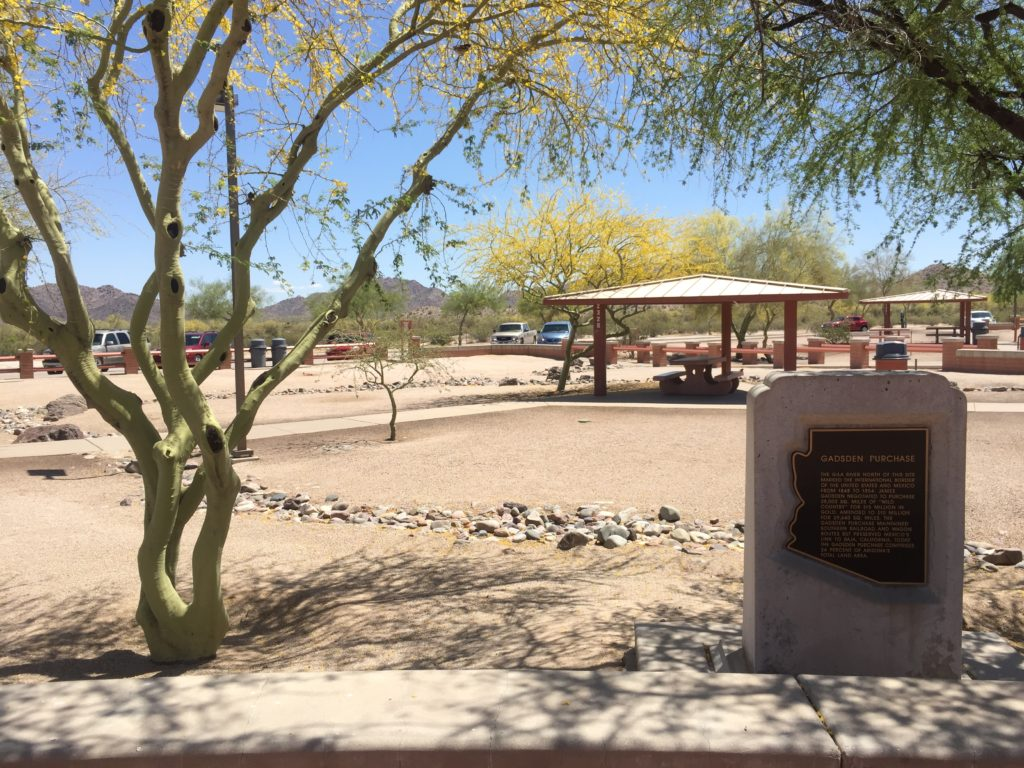 Arizona High Desert Rest Area